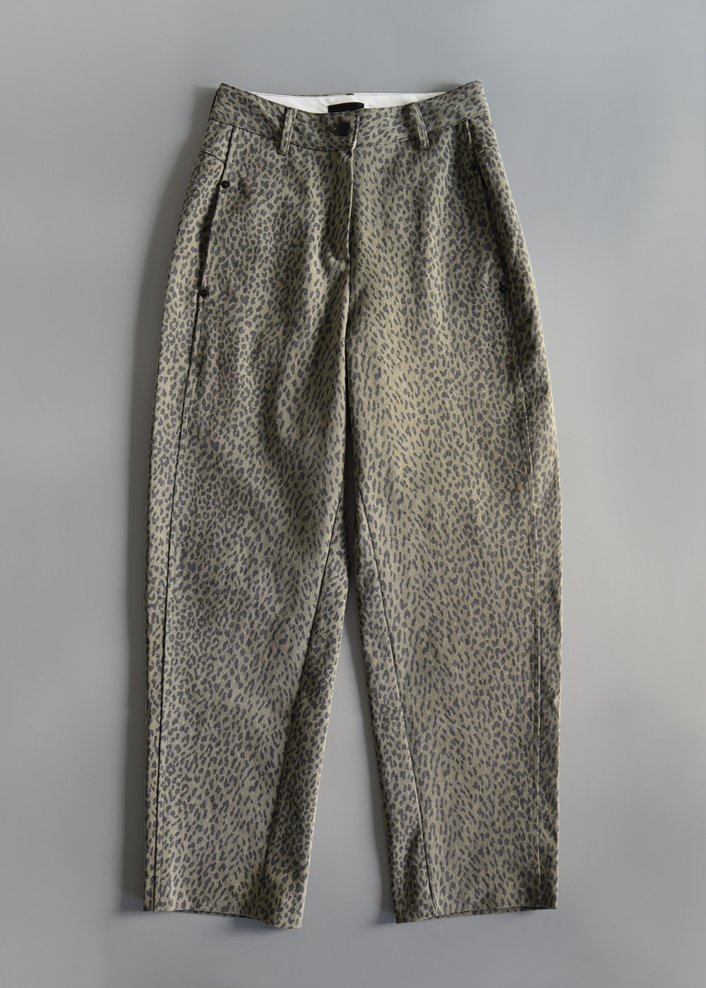 Structural Leopard Pants