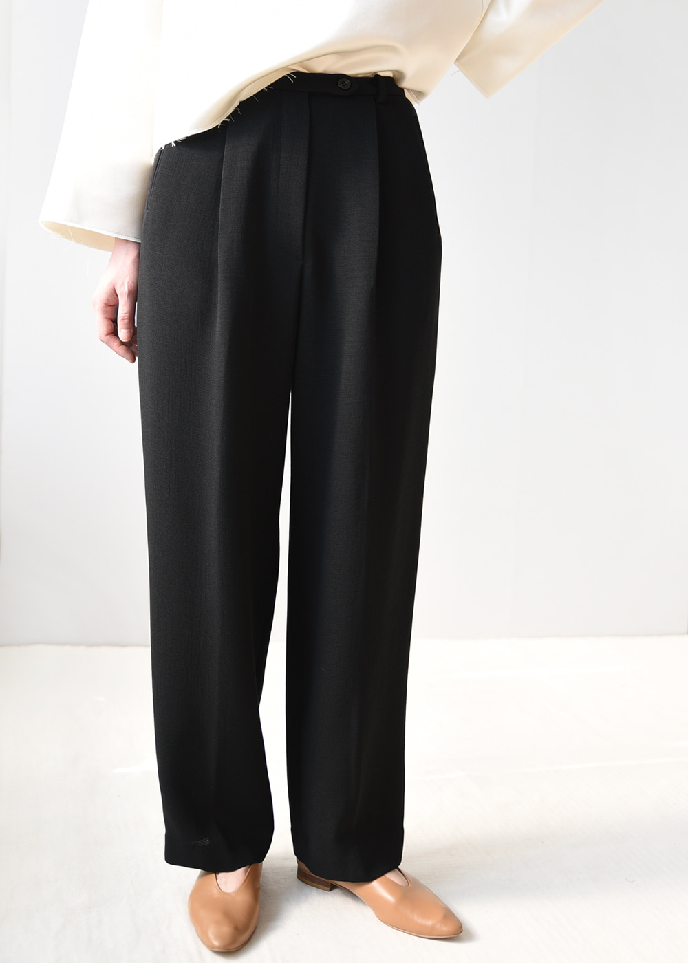 Gauze Wool Trousers