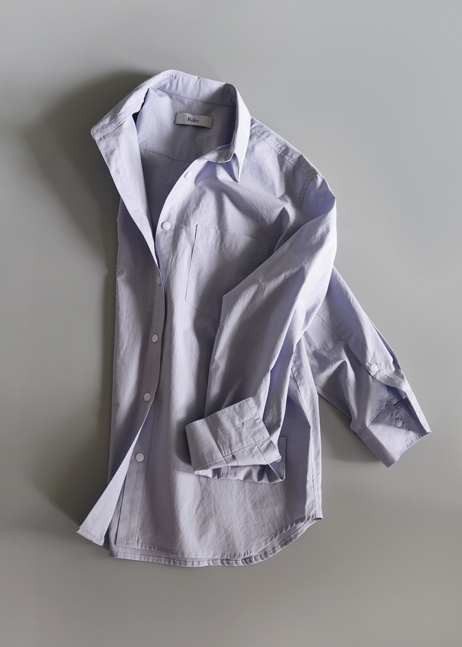 [ROBE] COLOUR BASIC SHIRT