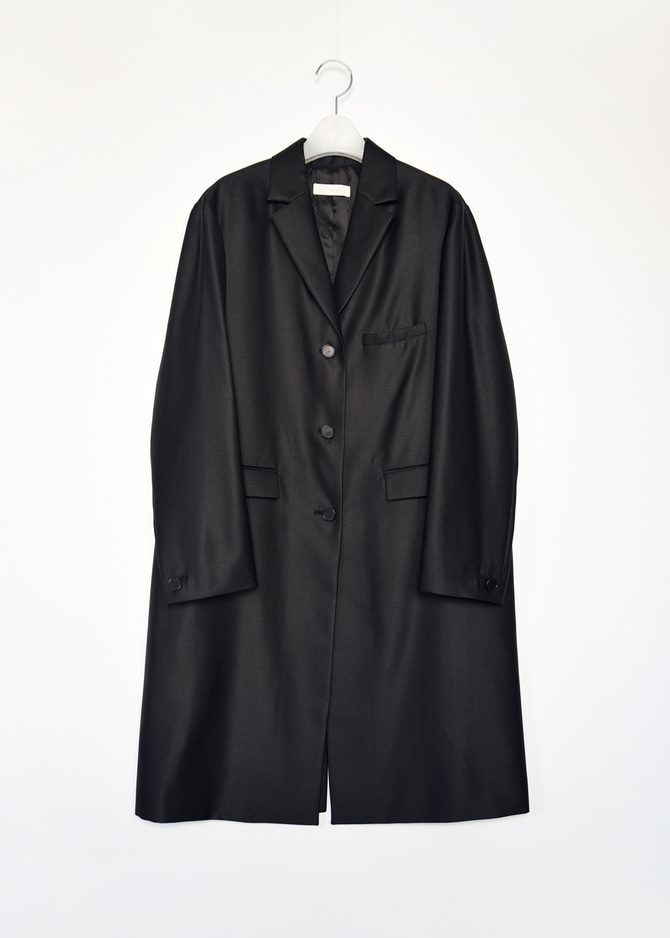 Wool-Silk blended Jacket