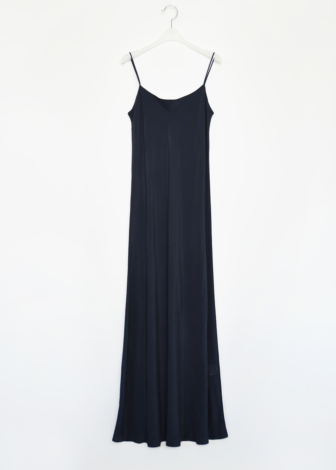 Silk-like Maxi Dress