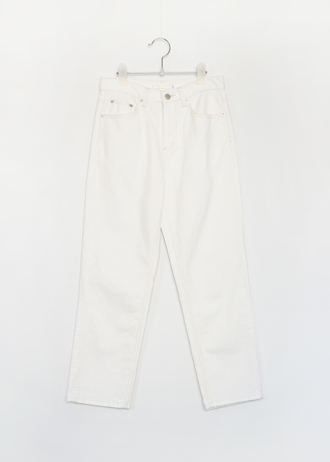 Slub White Denim