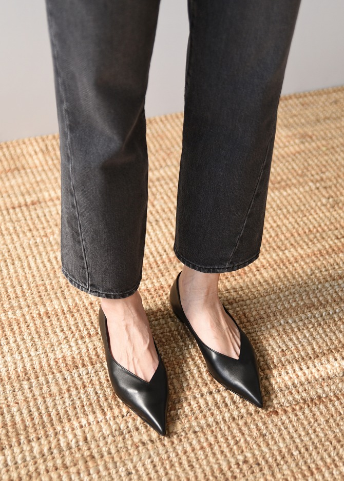 Moa Pointed-toe Flat