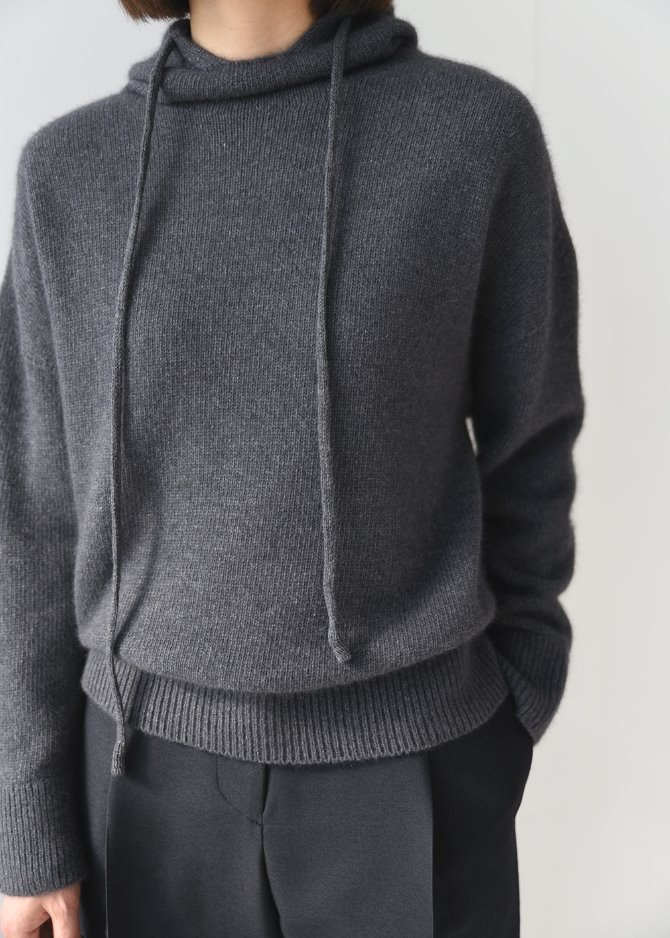 Fox Hooded Wholegarment Knit