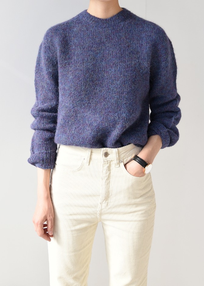 [Romanticize] Basic Pullover (Blue)