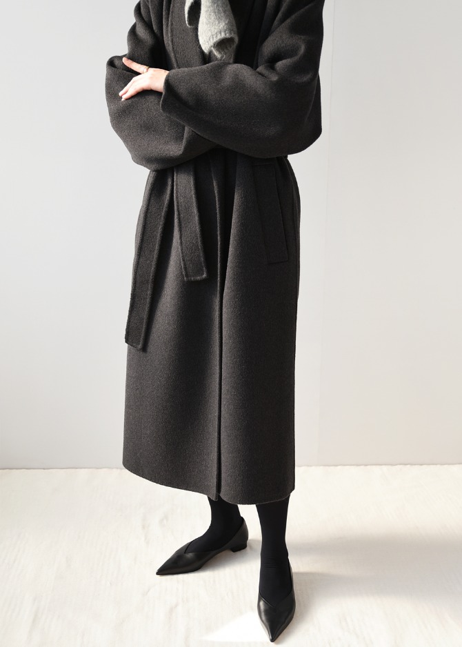 HD Shawl Collar Coat