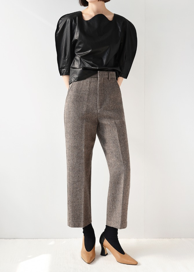 Essential Crop Trousers