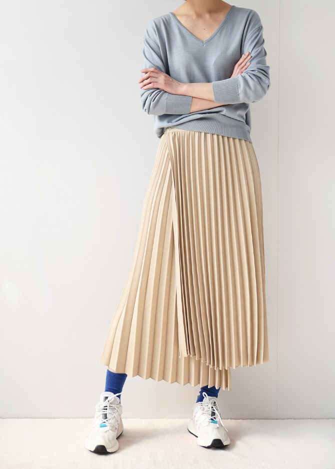Pleats Pleats Skirt