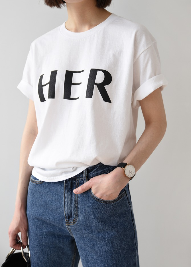 HER T-shirts